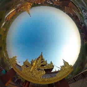#Mandalay #Myanmar #MandalayPalace #ThetaM15 #TravelPhotography #360 #HatueyPhotographies #theta360