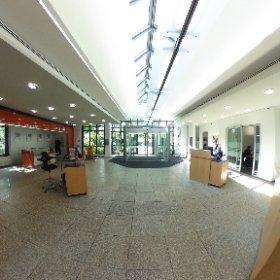 360 Grad Testbild des Foyers der Volksbank Hellweg #theta360