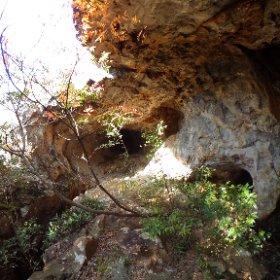 第二水晶洞窟入口付近 #theta360