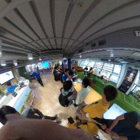 #thetaS #flirone #hackathon #bringTheHeat #cocoon #hongkong  #theta360