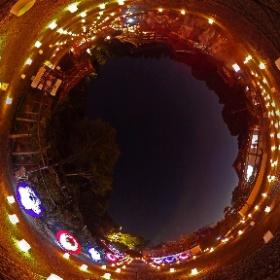 2017.09.24 飛鳥 光の回廊  岡寺ライトアップ&傘の華  #岡寺 #ライトアップ #傘の華 #光の回廊 #飛鳥 #Asuka #okadera #temple #illumination #umbrella #theta360