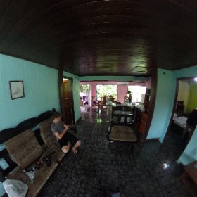 Inside the airbnb La Fortuna , Costa Rica #theta360