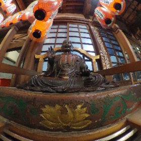 京都市 矢田寺(矢田地蔵)  宿泊先の近くを散歩中・・ #theta360