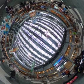 新千歳空港 中央広場 #まるちゃん写真集 #まるちゃん北海道旅行 #theta360