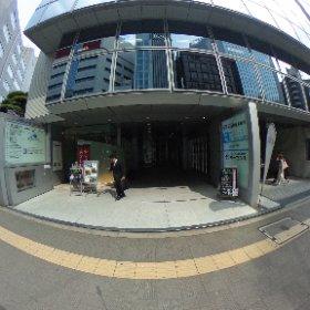 マイルストーンカナダ東京オフィス ビル正面 #theta360