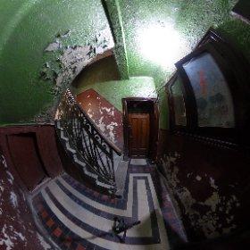 Scari spre columbar - Crematoriul Cenusa