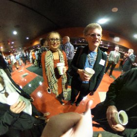 Cary & Middle Creek HS representatives at PNC Arena for the 2016 Superintendent's Breakfast. @WCPSS #theta360