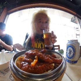 老朋友と飲茶なう〜これ食ったら日本に帰ります〜