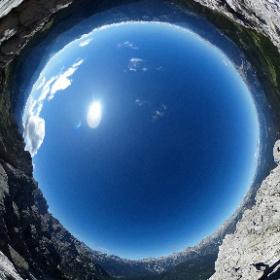 Monte Ciareido Cima SO (2504 m) - Marmarole orientali, Pian dei Buoi - Lozzo di Cadore Dolomiti  #theta360 #theta360it