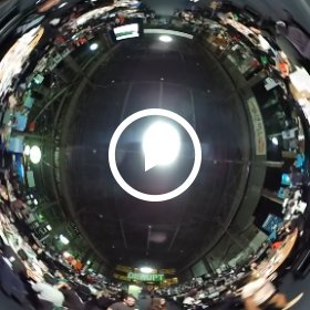 From TechCrunch DISRUPT, Sept 2015, late at night #theta360