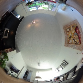 Shower our house with flowers.  #sakura3d #theta360
