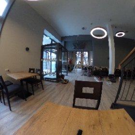 05.04.2019 Restaurantsaal - Restarbeiten #theta360de