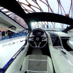EVスーパーカー「GLM-G4」 #theta360