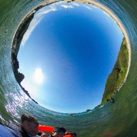 三瀬海水浴場! #theta360