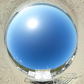 Bournemouth beach lockdown March 2020 #theta360