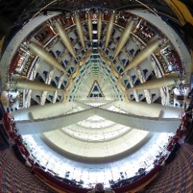 Inside the @burjalarab in #Dubai. Wow! #theta360 #theta360uk