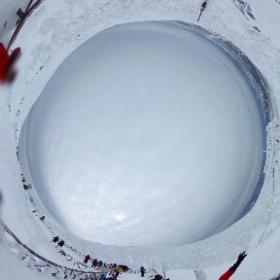 #snow3d #ZAO 蔵王の樹氷 #theta360
