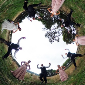 360° photo from last weeks wedding at Sudbury NZ #theta360