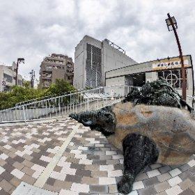 天野裕夫 彫刻 カルタゴ HDR-DNG +/-4 #thetaz1 #theta360