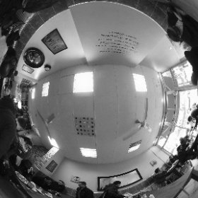 Packed cafe. #theta360