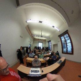 #PadovaWiki inizio sessione #OpenStreetMap @WikimediaItalia #theta360it