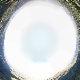 屏風山(岐阜県) 2019.10.28 晴れ 360°空撮パノラマ #theta360