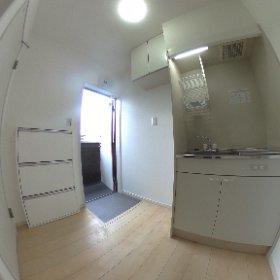 坂戸市薬師町にて8世帯の共同住宅が完成 完了検査を終えて360°カメラで撮影 #theta360
