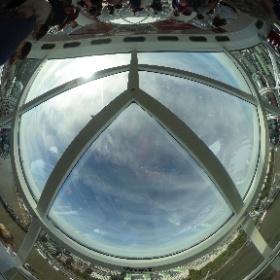 London Eye #theta360