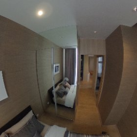 Noble BE19 Sukhumvit 2 Bedroom 73.16sq.m (Common Bedroom 360° View)
