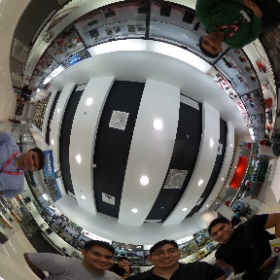 Testing this little piece of tech for sunday's big event  #360degrees #theta360
