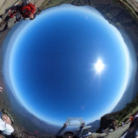 アタック完了!これから下山するよー! #全天雲カメラ #FB登山部 #theta360