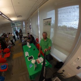 "Great turn out at ""Its Great to be a Teacher""! @hsteorg #HSTE #theta360"