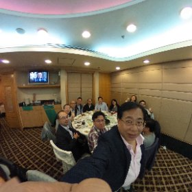 KK retirement dinner 11/11/2016 #monoji3d #theta360