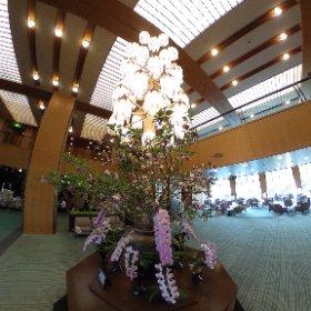 ホテルオークラ神戸のロビー。東京と似てる。 #theta360