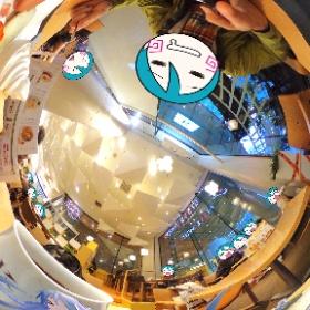 札幌BISSE内、きのとやにて。 #miku360 #theta360