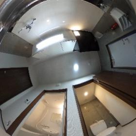 カンセイホーム新川1Kタイプ:キッチン&バス&トイレ