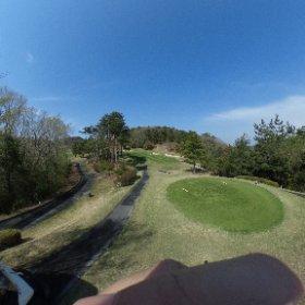 昨日は先輩とゴルフ 360°カメラを手に入れたので撮ってみた