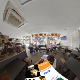 Madlilys Espresso in London Court Perth, seating inside or out, selection of lunch snacks ready to go and best espresso, SM hub https://linkfox.io/nBHaP BEST HASHTAGS  #MadlilysEspresso  #LondonCourtPerth   #VisitPerthWA    #Butterfly3d #theta360