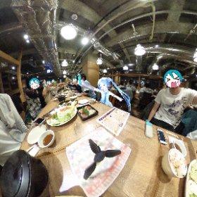 かんぱ〜い!(日曜の部) #SNOWMIKU #miku360