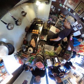 THE BURGER STAND #theta360
