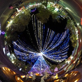 ハウステンボスの光の王国 #スタイリッシュ生活日記 #theta360