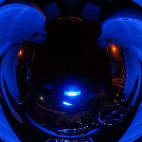 The Scoopz Mobile in blue light #BMWi8 #theta360 #theta360uk