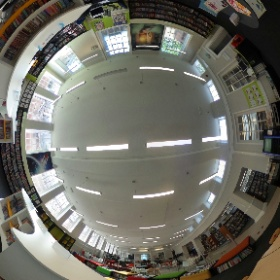 York library and archive reading area #theta360