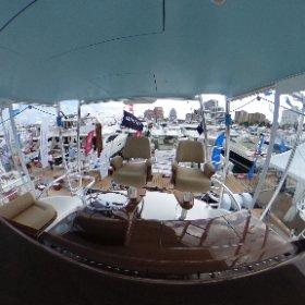 The bridge of the new Winter Custom Yachts 60 - Wolverine.