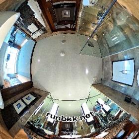 コンラッドバンコクのバスルーム #theta360