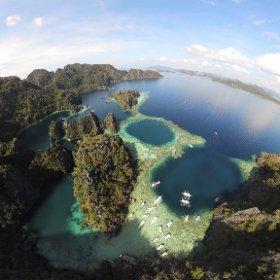 コロン島 ツインラグーン