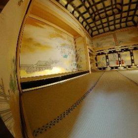 名古屋城本丸御殿上洛殿 #theta360