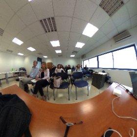 Empezamos nuestro taller de #innovación para emprendedores #theta360