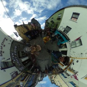 Caroline Okwonko, Barra Convery and Yvette Picque bring Macnas colourful Halloween Parade, Port Na Bpucai (Song of the Spirits), which is happening on Sunday 29 October at 5.30pm. #theta360