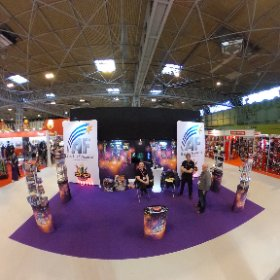 With he guys from Absolute Fireworks @ the NEC #theta360 #theta360uk